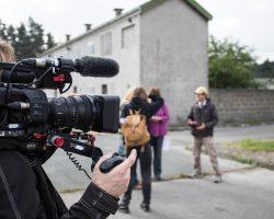 Dokumentation durch ein Kamerateam