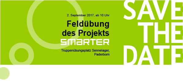 Save the date - Feldübung am 02.09.2017