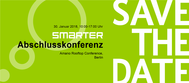 Save the date - Abschlusskonferenz am 30.01.2018